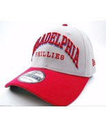 Philadelphia Phillies New Era 39Thirty Arch Mark MLB Baseball Cap Hat M/L - $19.90