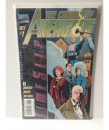 AVENGERS: TIME SLIP #1 CHROME STYLE COVER -  FREE SHIPPING - $11.30
