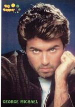 George Michael teen magazine pinup clippings Tiger Beat Bop Teen Beat Wham