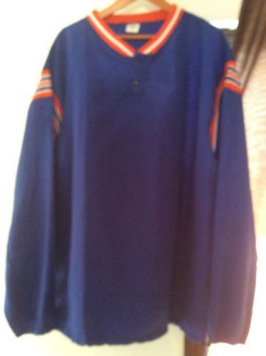 VINTAGE BLUE DE LONG new with tags V NECK XL JERSEY JACKET - $18.69