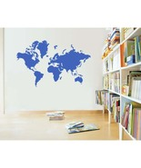 Large World Map Vinyl Wall Sticker Decal - $39.99