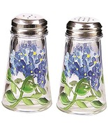 Grant Howard Hand Painted Tapered Salt and Pepper Shaker Set, Blue Hydra... - $29.89