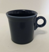 Fiesta Ware Homer Laughlin Cobalt Blue Coffee Mug w/ Ring Handle Made in USA   - $16.82