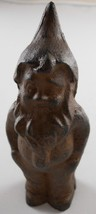 Iron Gnome Figurine Paperweight - $19.93
