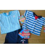 Vintage 3 Pc Garanimals Outfit Boy Girl Striped... - $24.99