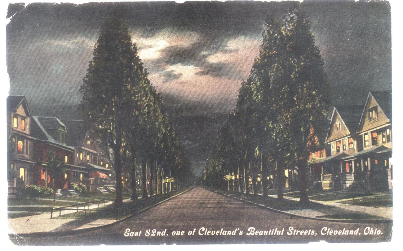 Cleveland post card