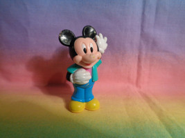 Disney Mickey Mouse PVC Figure  or Cake Topper - as is - very scraped - $2.23