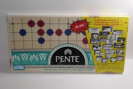 Parker Brothers 1989 PENTE Classic Board Game of Skill SEALED - $33.24