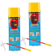 Great Stuff Window & Door 2 Pack of 16 Ounce oz Insulating Foam Sealant 175437