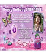 Sleepover Slumber Pajama PJ Girl Birthday Party Invitation - $19.99