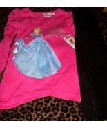 Disney Girls Cinderella 2 Piece Pant Set Valentine Pink SZ 2T Hearts NEW - $15.00