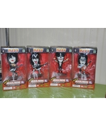 KISS DOLLS SET of 4 HEADLINERS XL FIGURES BOXED 1999 - brand new - $127.99