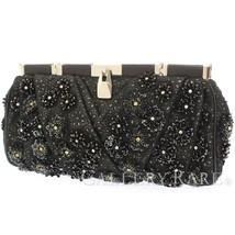 LOUIS VUITTON VIP Brody Spangles Black M94274 Clutch Bag Authentic 5484775 - $1,046.52