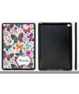PERSONALIZED RUBBER CASE FOR iPad Air 1 2 Mini 1 2 3 4 WILDLY COLORFUL B... - $15.98