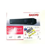 Sanyo DVD / CD Player with Remote & AV Cables FWDP105F New Open Box - $27.10