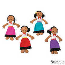 Plush Fiesta Yarn Dolls  - $22.49