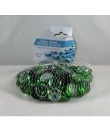 Greenbrier Inc. Round Flat Glass Gems Decorative Accents 14 oz. - New - ... - $8.62