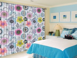 3D Pattern 5101 Blockout Photo Curtain Printing Curtains Drapes Fabric W... - $130.83+