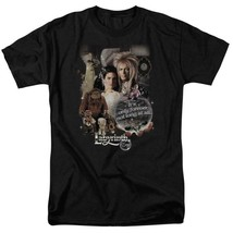 Labyrinth David Bowie Fantasy Cult film Retro 80s adult graphic t-shirt LAB137 image 1