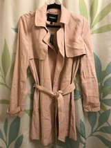 Express Trench Jacket Light Pink - $119.68