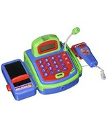 Pretend Play Electronic Cash Register Toy Realistic Actions and Sounds - $27.90