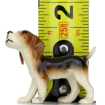 Hagen Renaker Miniature Dog Beagle Ceramic Figurine image 2