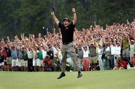 Phil Mickelson 2004 Masters TKK Vintage 24X36 Color Golf Memorabilia Photo - $45.95