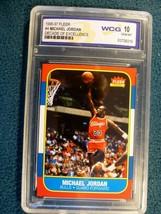 1996-97 Fleer Decade Of Excellence Micheal Jordan Wcg 10 Mint - $23.76