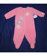 SMALL WONDERS Size Small  3-6 months Pink Sleeper NWT - $12.99