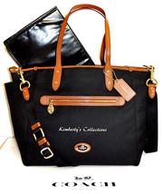 COACH Baby Shower Diaper Baby Bag Laptop Weekender Travel Multi Function... - $191.08