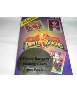 POWER RANGERS TRADING CARD SEALED WAX BOX - $27.99