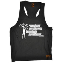 Two Wheels Move The Soul Mens Vest Cyclist Cycling Bike Funny birthday gift - $11.05
