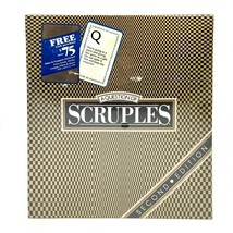 NEW Vintage 1987 Milton Bradley Scruples Game - Second Edition - Adult - $28.45