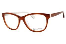 NEW Calvin Klein CK5841 313, Havana/White, RX-able eyeglasses, 54-16-135 - $66.66