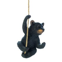 Hanging Decoration, Black Bear Outdoor Small Home Patio Porch Hanging Decor - $31.49