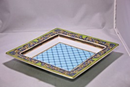 """Rosenthal Versace  Russian Dream Tray  8.75"""" x 8.75""""  - Never used - $425.00"""