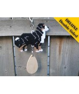 Bernese Mountain Dog Deluxe crate tag 2 sided h... - $32.00