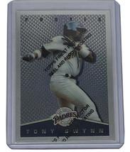 1995 Topps Total Bases Finest Tony Gwynn #12 HOF Padres - $5.51