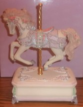 "1997 San Francisco Music Box Co Carousel Horse VANESSA ""Pachebel's Canon"" - $25.00"