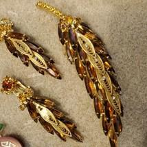 Vintage Juliana brooch and earring set - $163.35