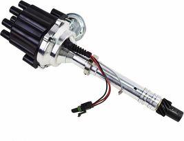 Pro Billet Series R2R Distributor GMC Chevy SBC BBC V8 327 350 396 454 Black image 7