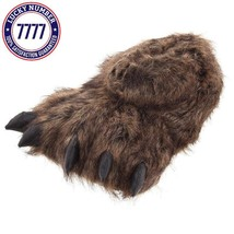 Grizzly Bear Paw Slippers For Women And Men - $35.94