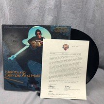 "Neil Young Sample And Hold 12"" Single 20105-0A 1982 Geffen Record Letter... - £39.70 GBP"