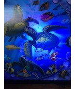 "Tropical Fish Jeff Wilkie Treasure Water Ocean Turquoise 14""x14"" 3D Picture - $94.53"