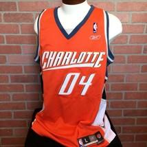 Reebok NBA Charlotte Bobcats Mens L Jersey Embroidered 04 Swingman 2004 ... - €25,98 EUR