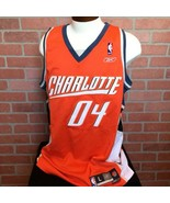 Reebok NBA Charlotte Bobcats Mens L Jersey Embroidered 04 Swingman 2004 ... - $29.69
