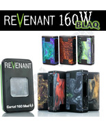 AUTHENTIC REVENANT CARTEL BLAQ 160W TC MOD | 160 Watt | BLACK FRAME VERSION - $123.70+