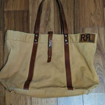 DOUBLE RL RRL RALPH LAUREN Authentic Tote Bag about 30 x 50cm Used - $414.99