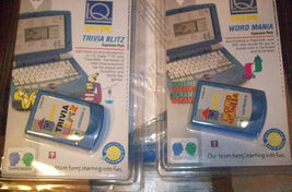 1980s Vintage Team Concepts ELECTRONIC TALKING IQ SUPER COMPUTER with 2 carts image 4