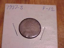 1937 S Lincoln Wheat Cent U- grade # 15 - $3.95